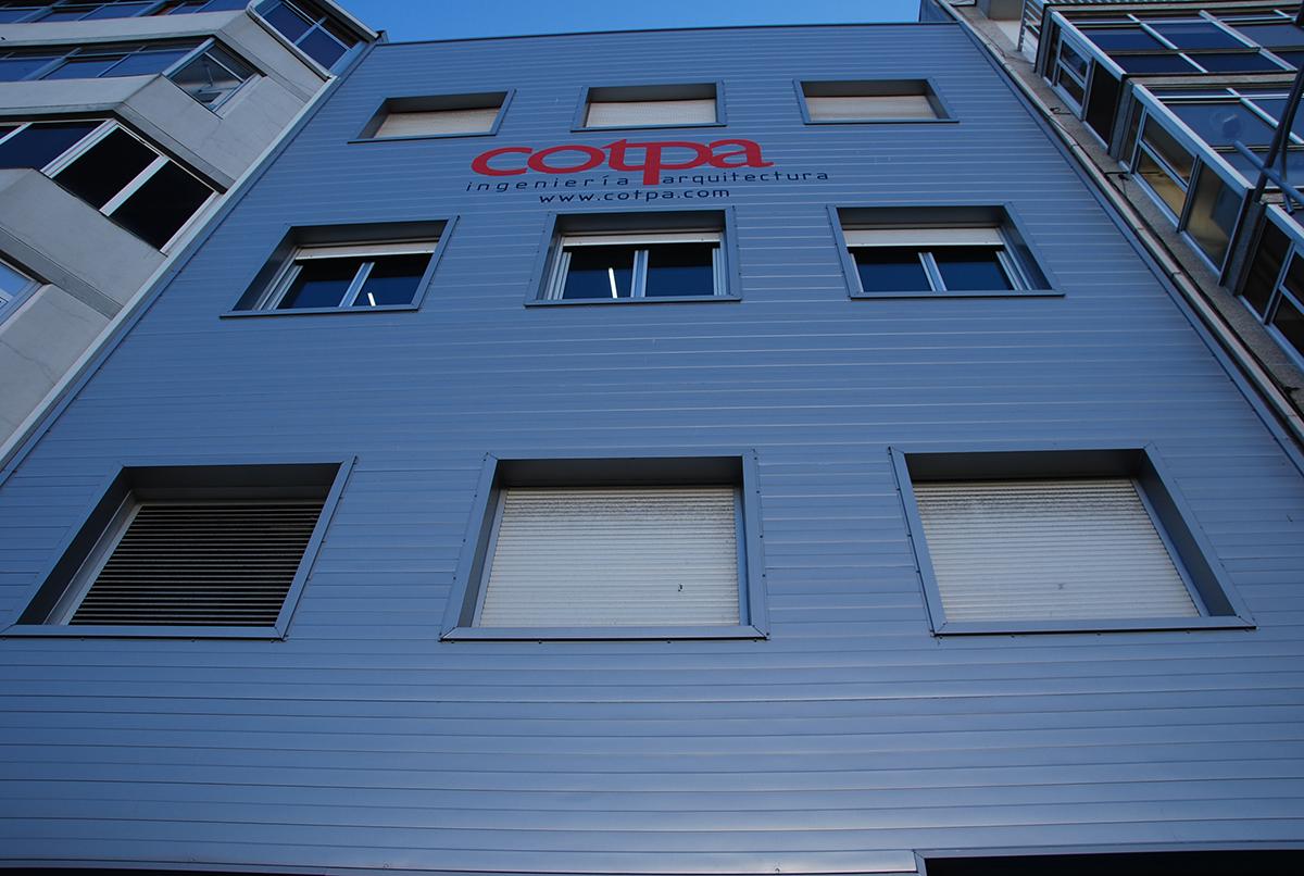 Fachada Edificio COTPA
